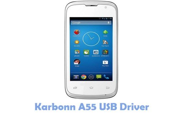 Download Karbonn A55 USB Driver