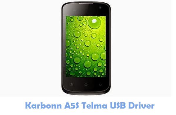 Download Karbonn A5S Telma USB Driver