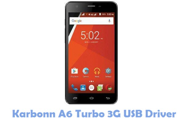 Download Karbonn A6 Turbo 3G USB Driver