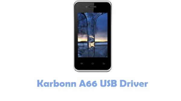 Download Karbonn A66 USB Driver
