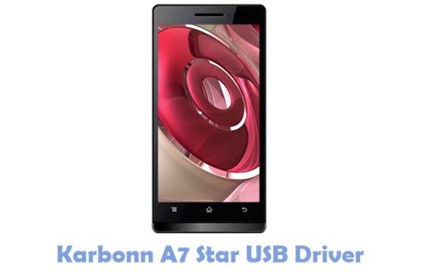 Karbonn A7 Star USB Driver