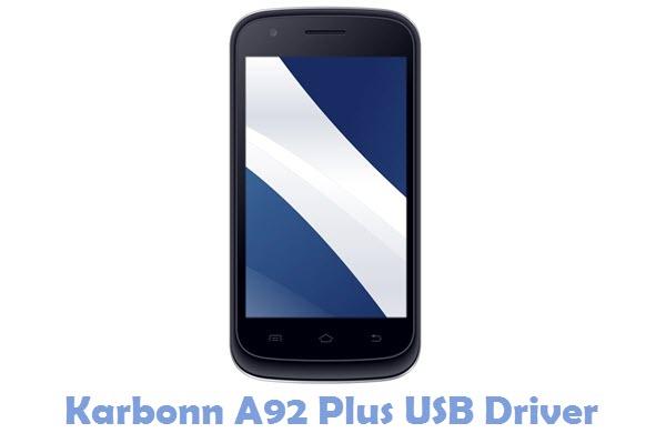 Download Karbonn A92 Plus USB Driver