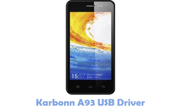 Download Karbonn A93 USB Driver