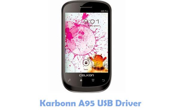 Download Karbonn A95 USB Driver