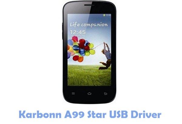 Karbonn A99 Star USB Driver