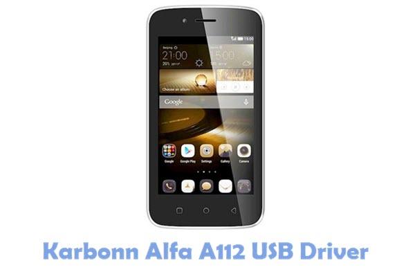 Download Karbonn Alfa A112 USB Driver