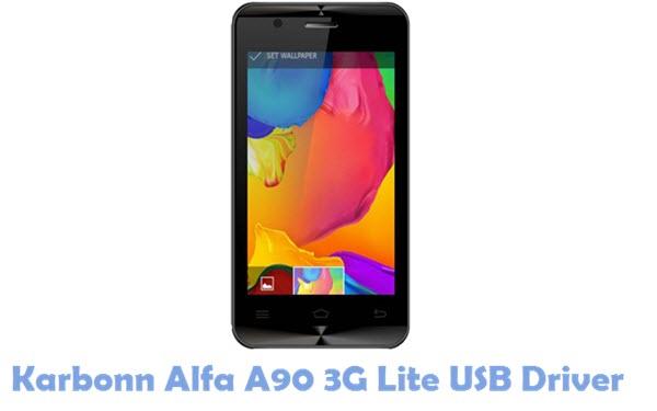 Download Karbonn Alfa A90 3G Lite USB Driver