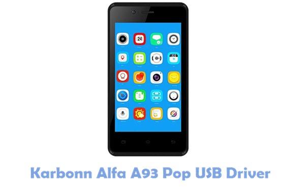 Karbonn Alfa A93 Pop USB Driver