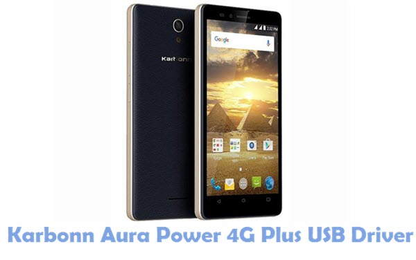 Download Karbonn Aura Power 4G Plus USB Driver