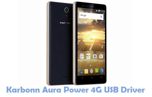 Download Karbonn Aura Power 4G USB Driver
