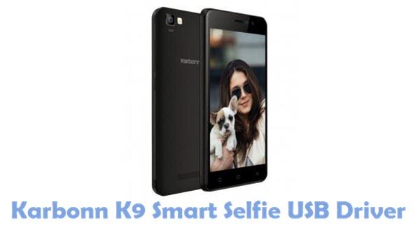 Download Karbonn K9 Smart Selfie USB Driver