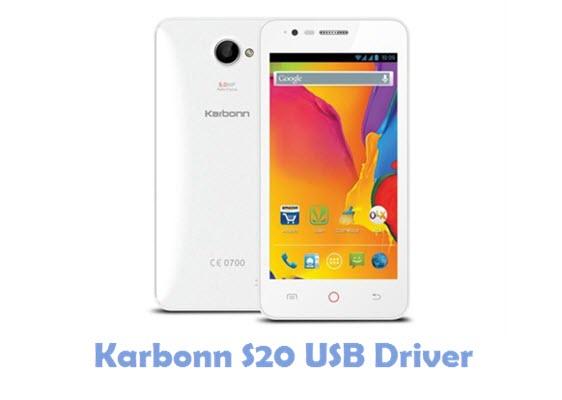Download Karbonn S20 USB Driver