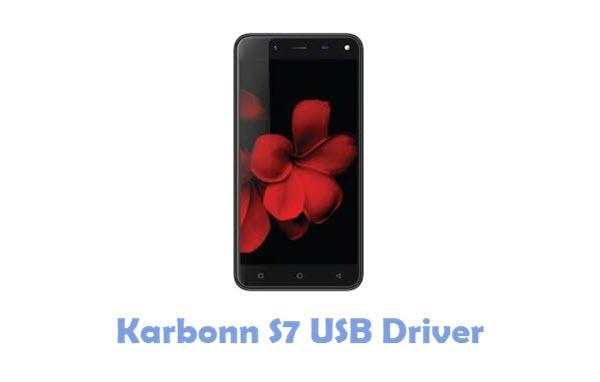 Download Karbonn S7 USB Driver