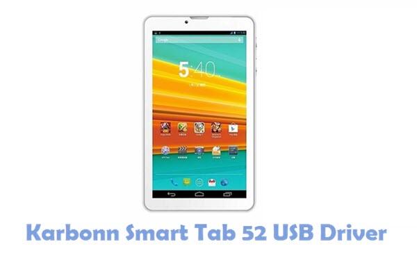 Download Karbonn Smart Tab 52 USB Driver