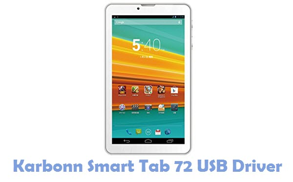 Download Karbonn Smart Tab 72 USB Driver