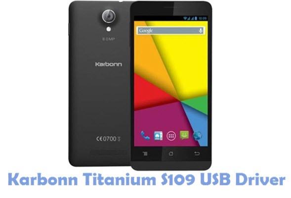 Download Karbonn Titanium S109 USB Driver