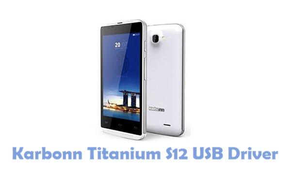 Download Karbonn Titanium S12 USB Driver