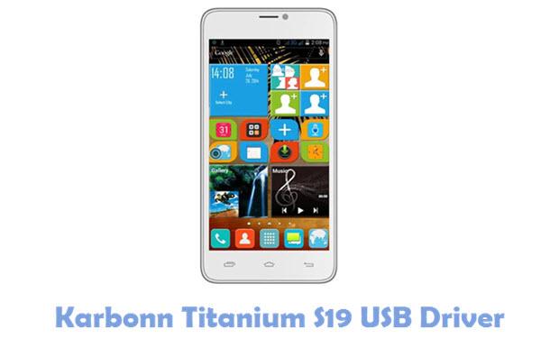 Download Karbonn Titanium S19 USB Driver
