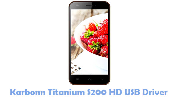 Download Karbonn Titanium S200 HD USB Driver