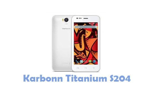 Download Karbonn Titanium S204 USB Driver