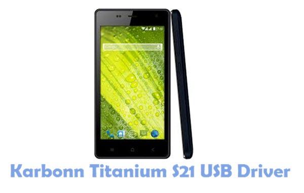 Download Karbonn Titanium S21 USB Driver USB Driver