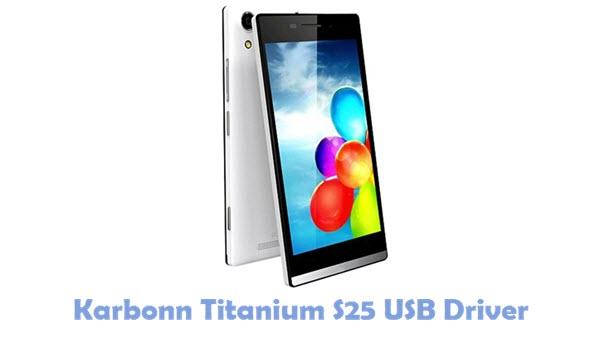 Download Karbonn Titanium S25 USB Driver