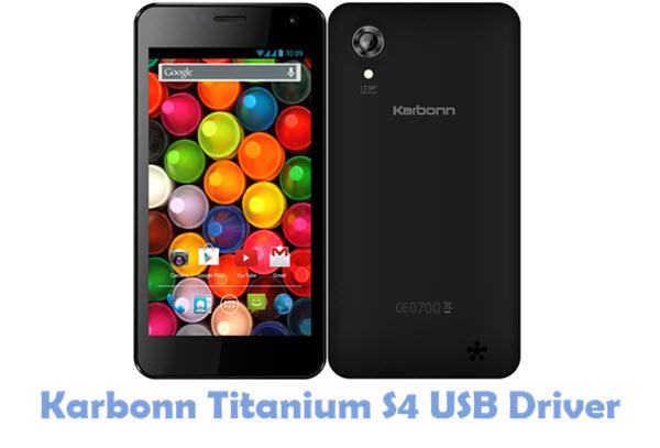 Download Karbonn Titanium S4 USB Driver