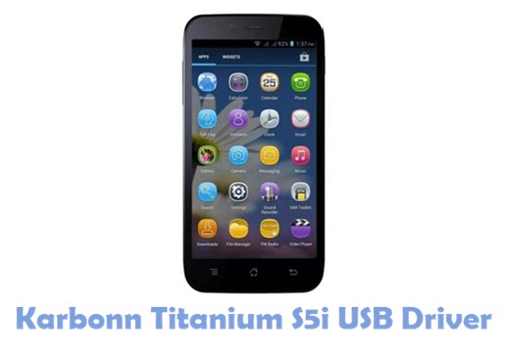Download Karbonn Titanium S5i USB Driver