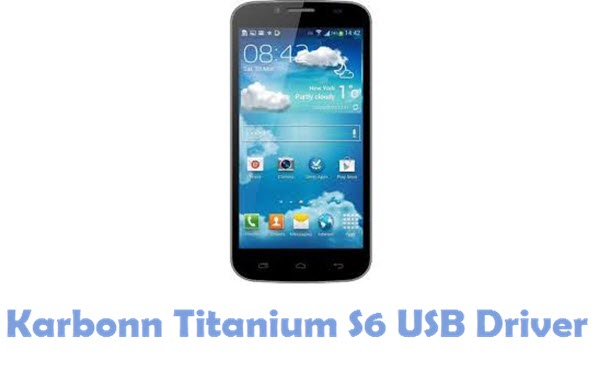 Download Karbonn Titanium S6 USB Driver