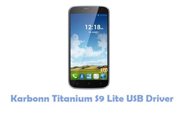 Download Karbonn Titanium S9 Lite USB Driver