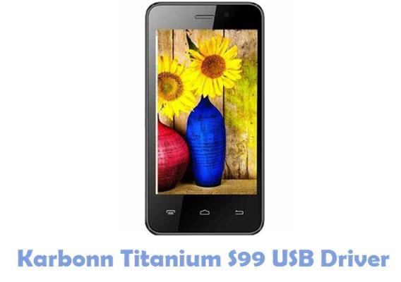 Download Karbonn Titanium S99 USB Driver