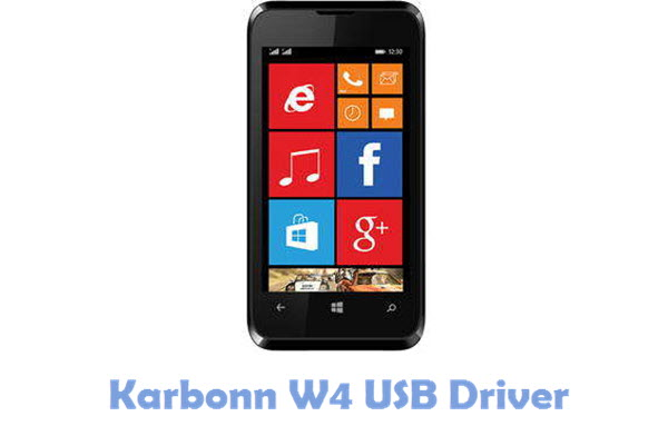 Download Karbonn W4 USB Driver