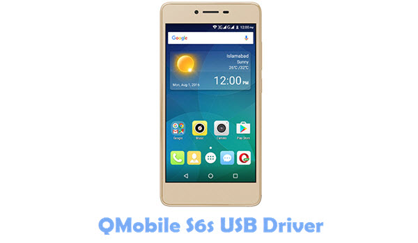 Download QMobile S6s USB Driver