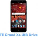 ZTE Grand X4 USB Driver