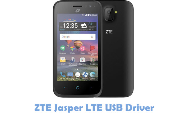 Download ZTE Jasper LTE USB Driver