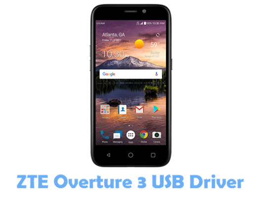 Download ZTE Overture 3 USB Driver