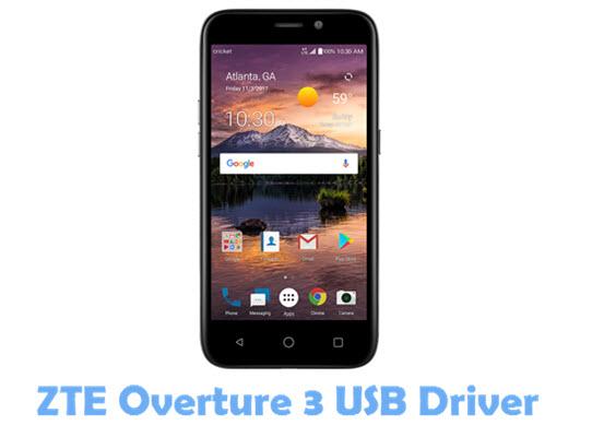 ZTE Overture 3 USB Driver
