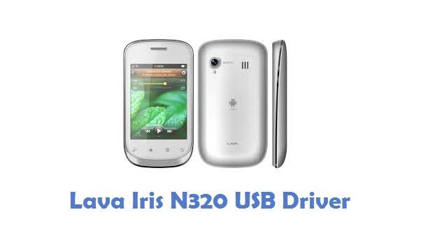 Lava Iris N320 USB Driver