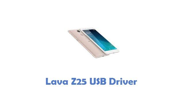 Lava Z25 USB Driver