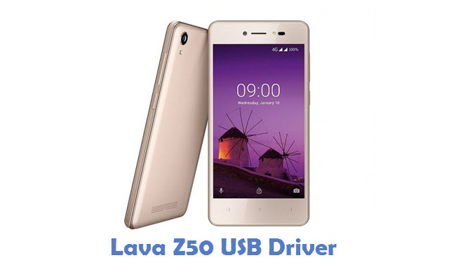 Lava Z50 USB Driver