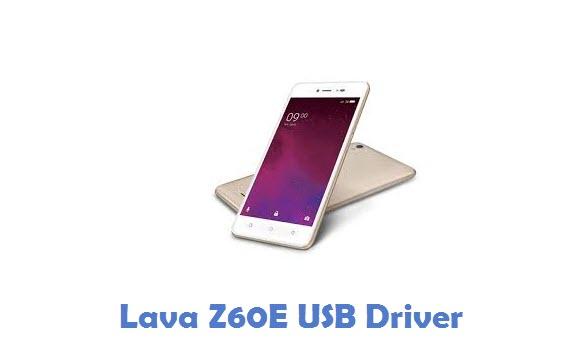Lava Z60E USB Driver