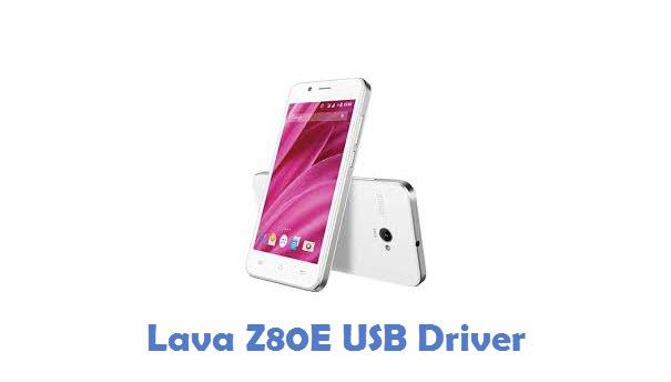 Lava Z80E USB Driver