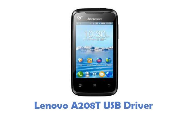 Lenovo A208T USB Driver