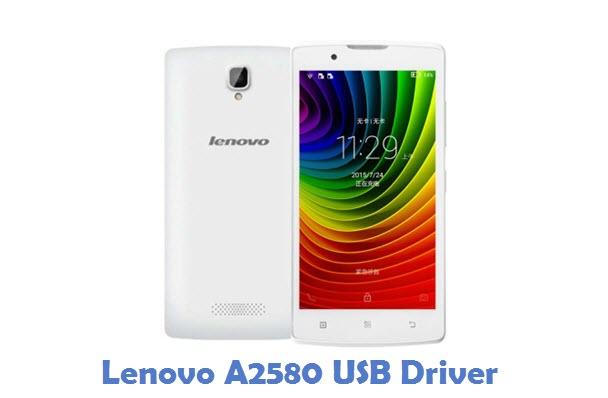 Lenovo A2580 USB Driver