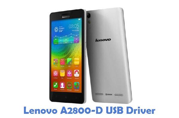 Lenovo A2800-D USB Driver
