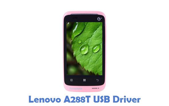 Lenovo A288T USB Driver