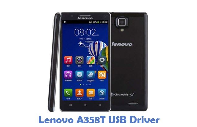 Lenovo A358T USB Driver