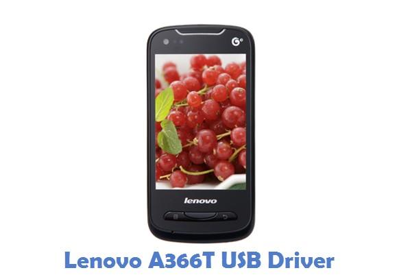 Lenovo A366T USB Driver