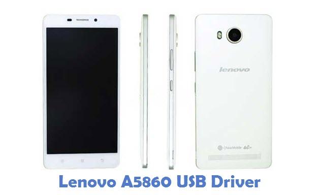 Lenovo A5860 USB Driver