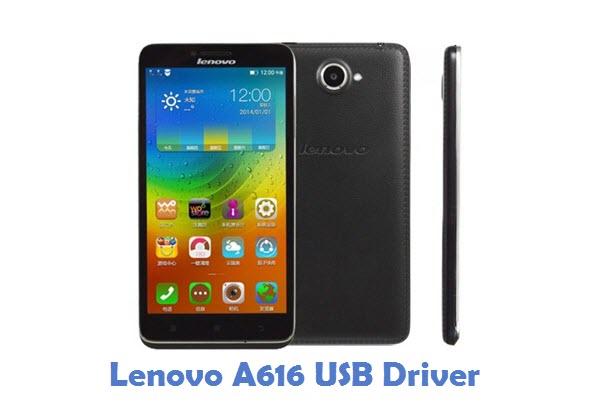 Lenovo A616 USB Driver